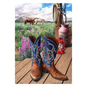 COPY - Garden Flag- NEW- Country Cowboy Boot Barn…